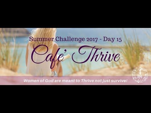 6-23-17 Day 15 Summer Challenge  #MorningMinutes #SummerChallange Day 15  Summary of our week talking about the negative emotions of discontentment, boredom and loneliness.  Don't forget to sign up for the FREE workshop: Rise above everyday life! Tuesday 6/27 at 12 PM ET/9 AM  http://robinhardy.net/products/rise-workshop/