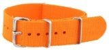 20mm Orange - Nylon Nato Ballistic Military Watch Band Strap G-10