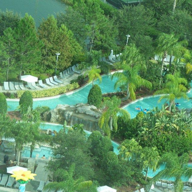 Lazy River at the Hilton Orlando Hotel, Florida, USA