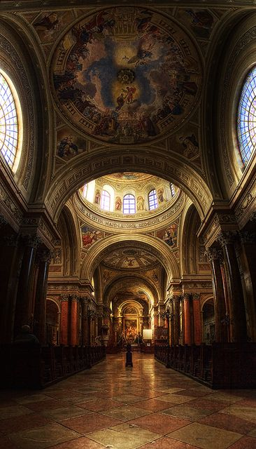 Cathedral of Eger, Hungary.