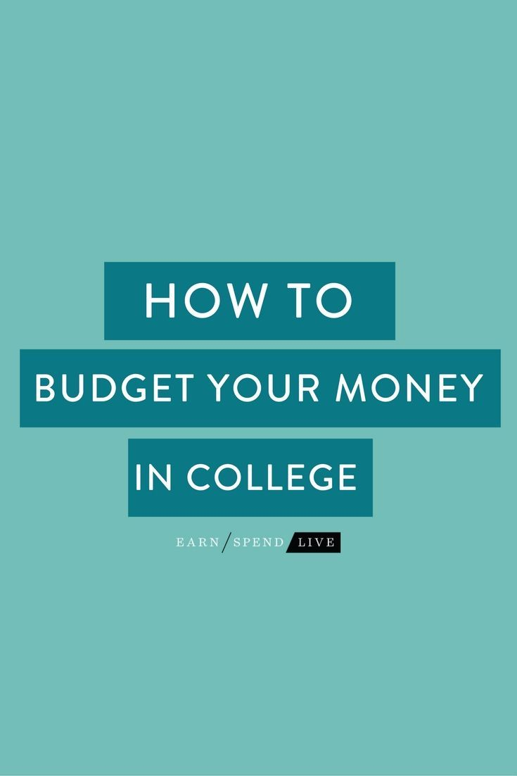 There are SO many fun things to do in college�but unfortunately, doing everything at once can really drain your bank account. Here's how to budget the RIGHT way during college so you can have fun AND save money!
