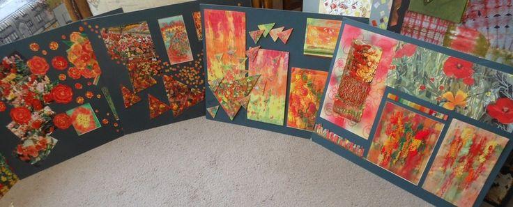 Jill Dian Izzard - sample boards