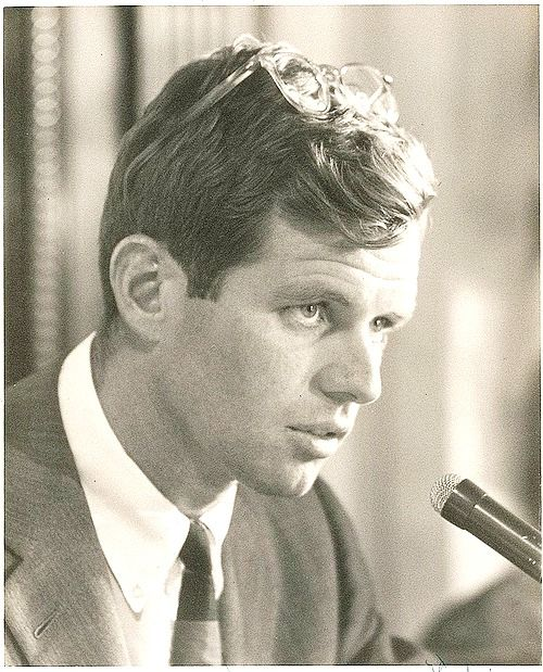 "United States Attorney General Mr~~Robert Francis Kennedy (November 20, 1925 – June 6, 1968), commonly known as ""Bobby"" or by his initials RFK, was an American politician from Massachusetts. He served as a Senator for New York from 1965 until his assassination in 1968. He was previously the 64th U.S. Attorney General from 1961 to 1964, serving under his older brother, President John F    http://en.wikipedia.org/wiki/Robert_F._Kennedy"