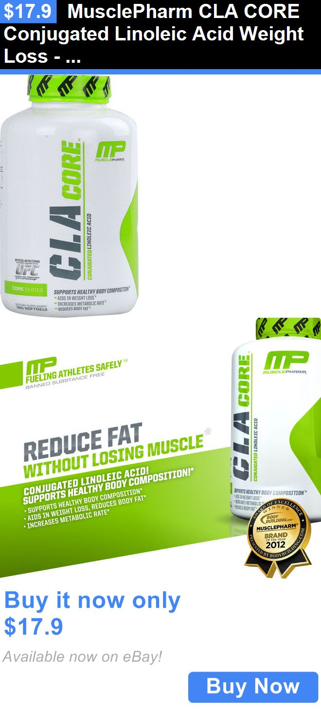 Weight Loss: Musclepharm Cla Core Conjugated Linoleic Acid Weight Loss - 180 Softgels BUY IT NOW ONLY: $17.9