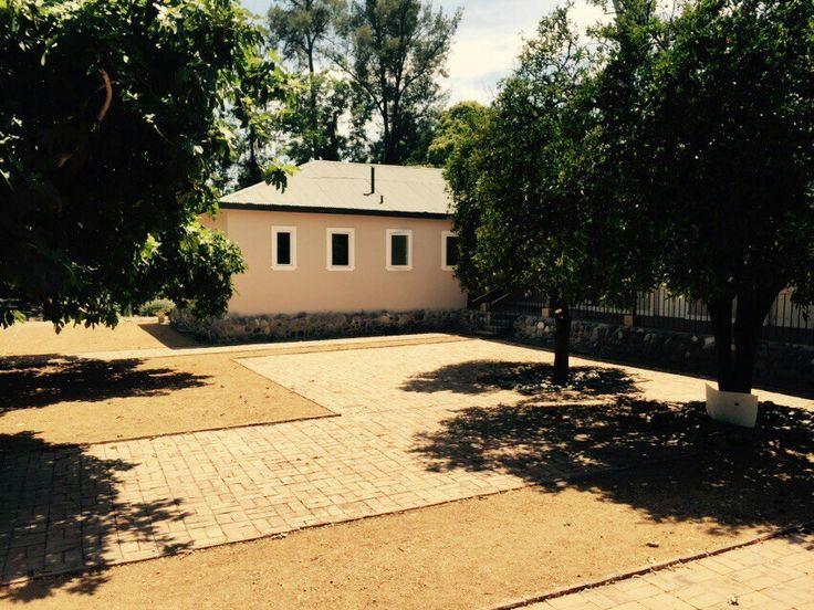 Backyard/ patio duro/ maicillo