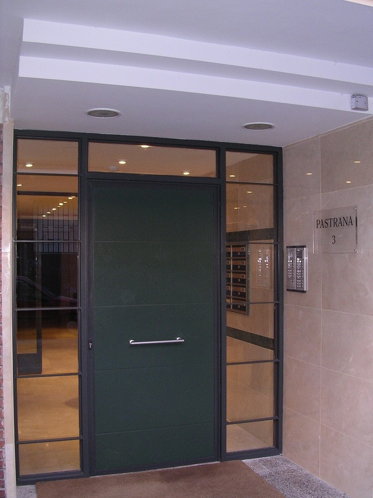 #Edificios #Contemporaneo #Recibidor #Puertas #Vidrio