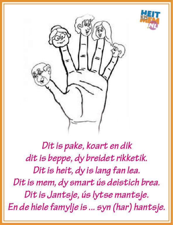 Vaak 53 best Gedichtsjes en ferskes bern / Friese gedichten en liedjes  CX69