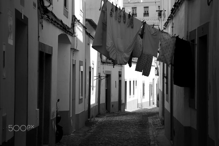 Street - Évora, Portugal