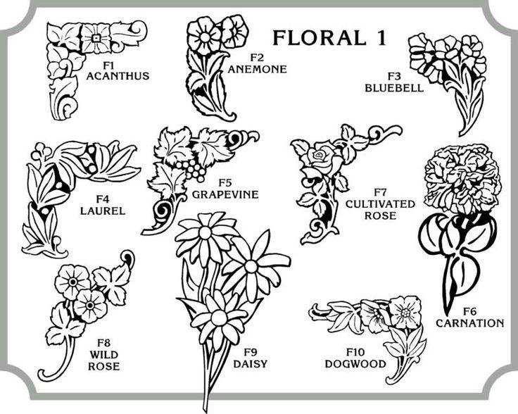 Floral g pixels patterns and designs