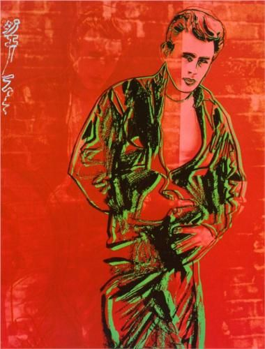 James Dean - Andy Warhol art ideas for the 1st Republic of Catalonia. 1strepublicofcatalonia.cat #catalanrevolution