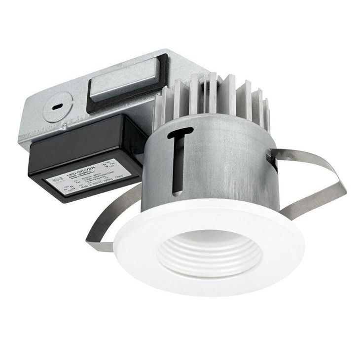 Globe Electric 3 in. IC Rated White Integrated LED Recessed Lighting Kit