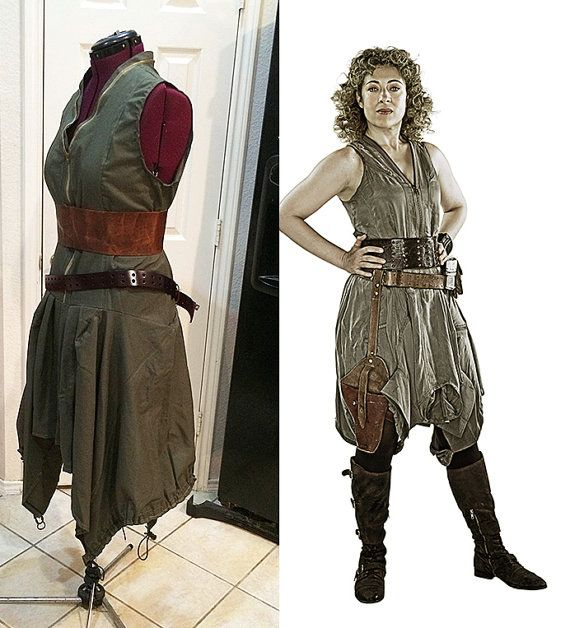 SALE  River Song Day of the Moon Cosplay by TracyMichelleCouture