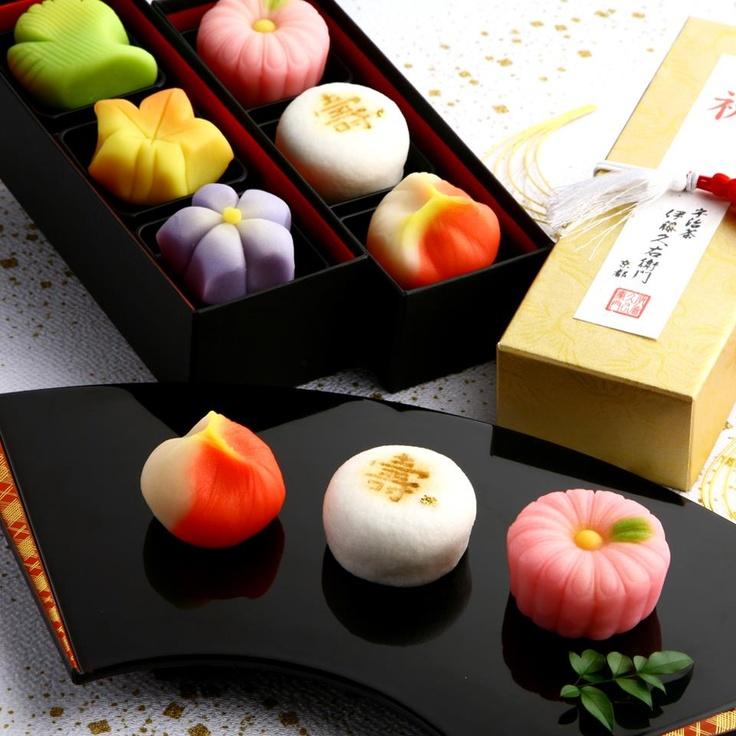too pretty to eat - wagashi
