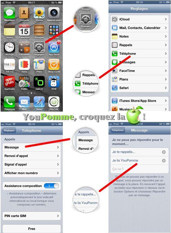 Comment créer des messages de réponse automatique sur iPhone [Tutoriel]