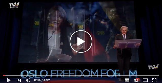¡Para la oreja ASESINO! Escucha lo que dice Almagro sobre Venezuela en el Oslo Freedom Forum en Noruega este #25May [VÍDEO] – NotiPlay.Com