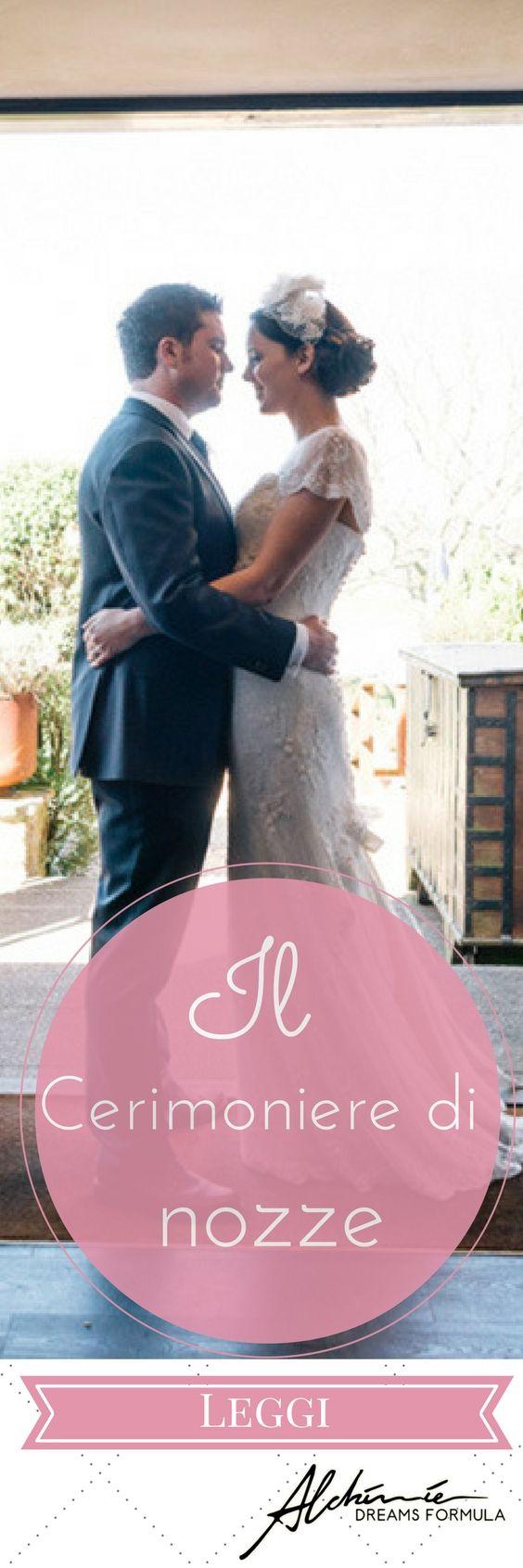 Il cerimoniere di nozze – The master of ceremonies