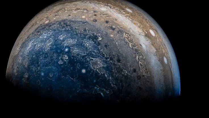 Latest view of Jupiter from NASA's Juno spacecraft