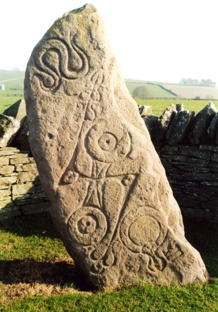 Aberlemno pictish stone this class at