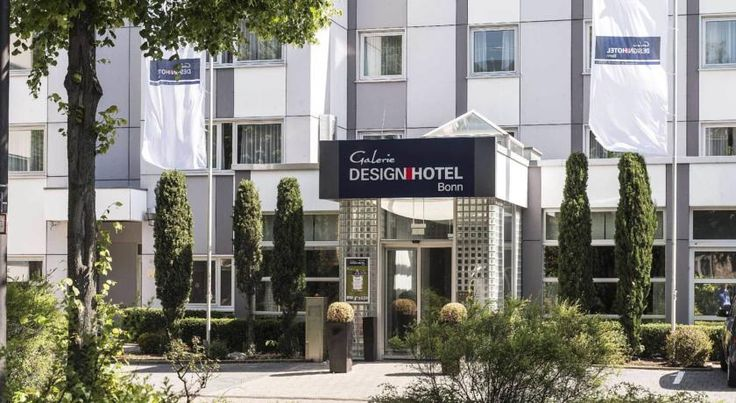 Galerie Design Hotel Bonn, managed by Maritim Hotels Bonn This 4-star superior design hotel in Bonn offers stylish rooms with free Wi-Fi, international food, and a spa. The city centre is 12 minutes away by underground.
