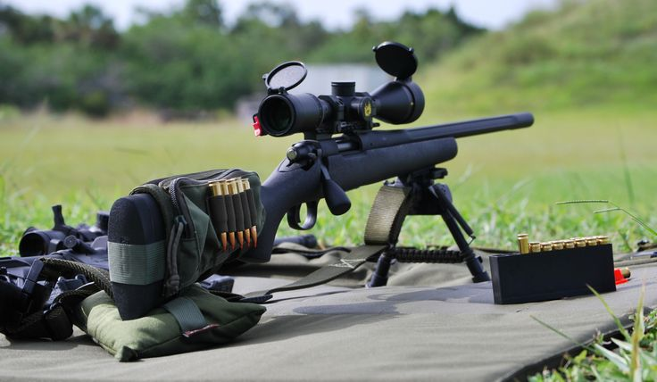 """Remington M700 LTR, .308win, 20"""" fluted barrel. Reach out and touch someone, literally"""