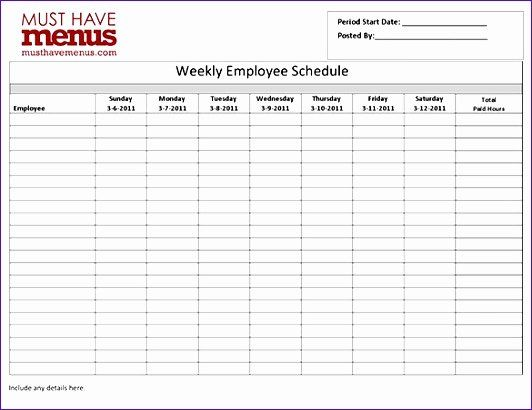 This is an accessible template. Employee Work Schedule Template Pdf Awesome 8 Employee Work Schedule Template Excel Exceltemp Schedule Template Homeschool Schedule Template Schedule Templates