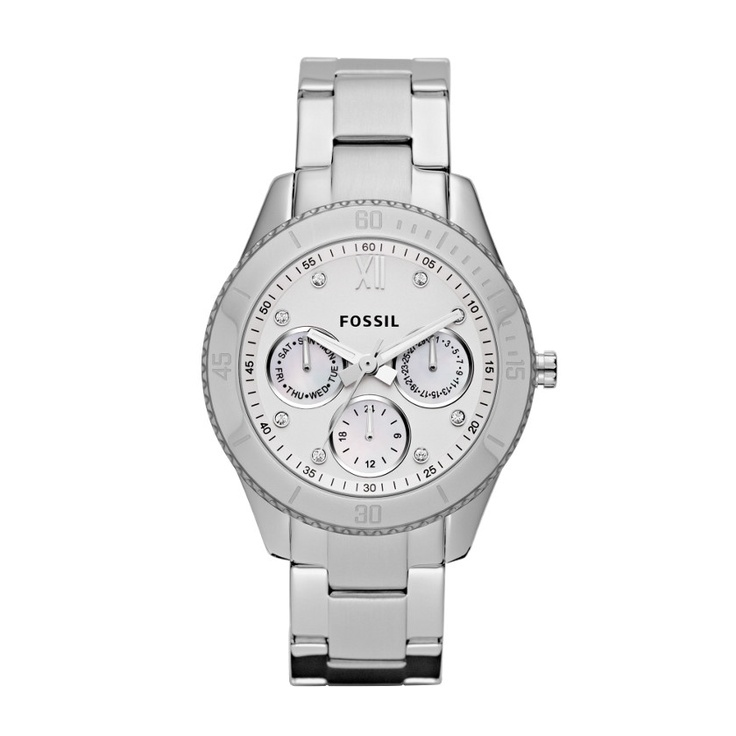 Stella Stainless Steel Watch ES3098 | FOSSIL® $115. Want.