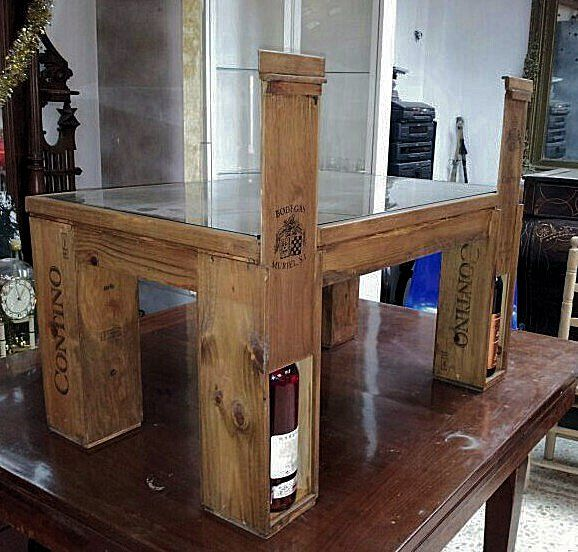 best cajas vino images on pinterest wine crates wine boxes and diy