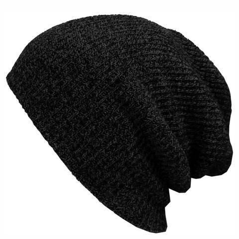 Unisex Plain Warm Soft Beanie