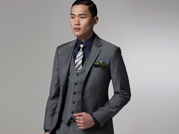 Vincero Gray Three-Piece Suit. Just ordered one from @Indochino