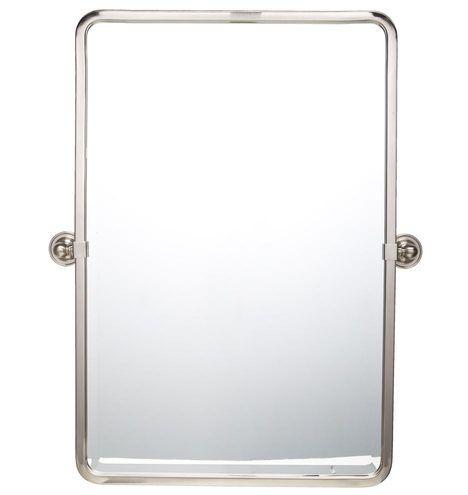 Landry Rounded Rectangle Pivot Mirror