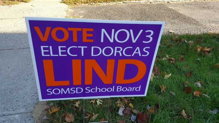 Maplewoodian.com: CAMPAIGN SIGN THEFTS HIT SCHOOL BOARD RACE