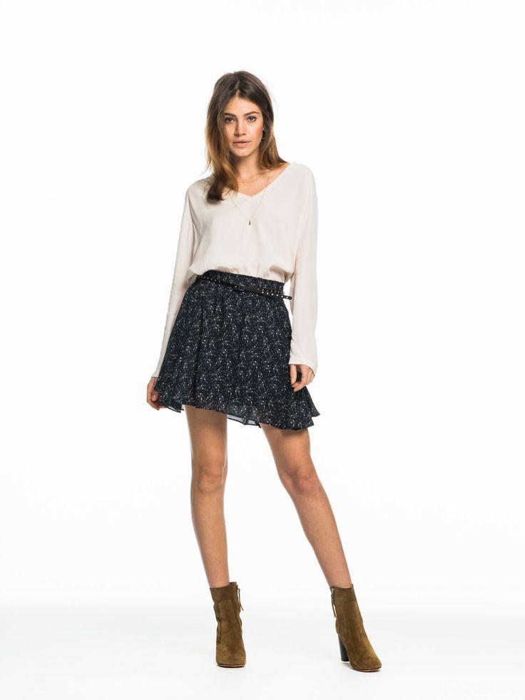 Belted Mini Skirt