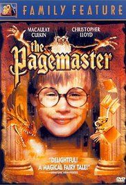 The Pagemaster Poster