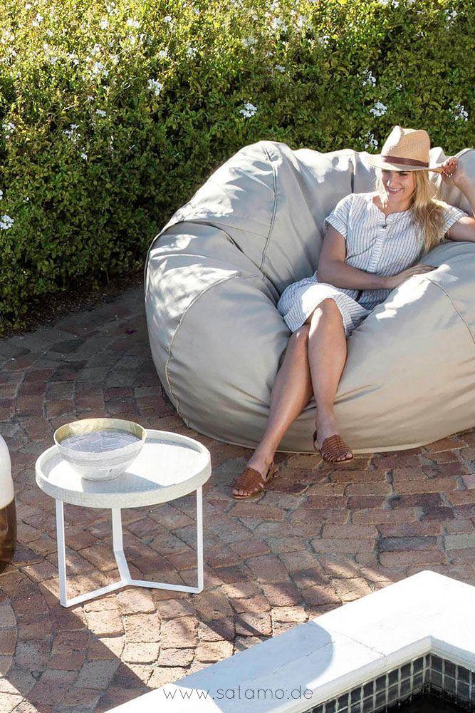Ein Outdoor Sitzsack Fur Den Garten Nie War Ein Sitzmobel Fur