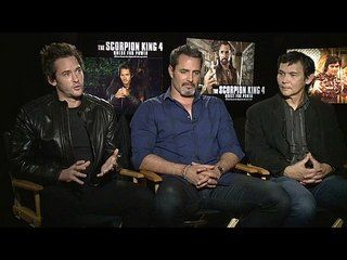 "The Scorpion King 4: Quest for Power: Victor Webster, Will Kemp & Don ""The Dragon"" Wilson Junket Interview --  -- http://www.movieweb.com/movie/the-scorpion-king-4-quest-for-power/victor-webster-will-kemp-don-the-dragon-wilson-junket-interview"