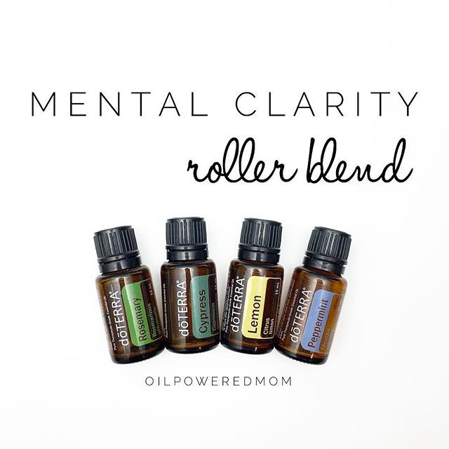 Use This Doterra Essential Oil Rollerball Recipe Blend To