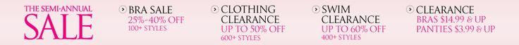 Victoria's Secret - Bra & Panty Clearance