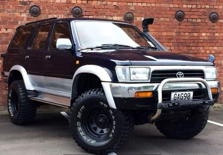 Toyota Surf Hilux 3.0 Turbo Diesel Manual 1992