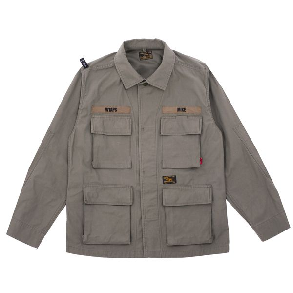 Wtaps Jungle Longsleeve Shirt - An all-time classic from WTAPS, the military inspired Jungle Longsleeve Shirt is back, and of course a must have.