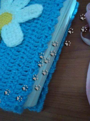 Funda primaveral (para ver más ir al blog) #crochet #diy #ganchillo
