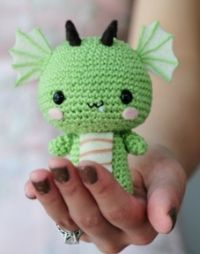 Free Amigurumi Patterns: Adorable Dragon