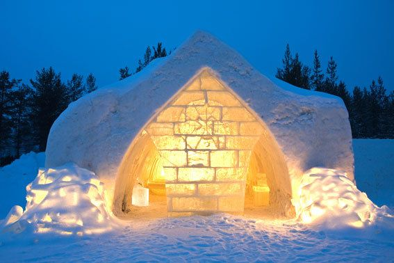 Snow Restaurant - Rovaniemi