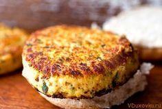 Вегетарианские котлеты из фасоли / Вегетарианские и веганские рецепты