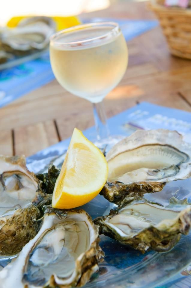 My ultimate favourite food - oysters with lemon and a glass of white wine, preferrably French Sancerre or Awatere Valley Sauvignon Blanc