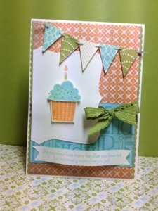 Stampin' Up! SU by Fiona Duthie, Fiona's Crafting: Crafts Cards, Banners Cards, Cards Cupcakes, Cards Birthday, Cupcakes Stamps, Birthday Cards, Cupcakes Cards, Cupcakes Banners, Stampin Up Cards