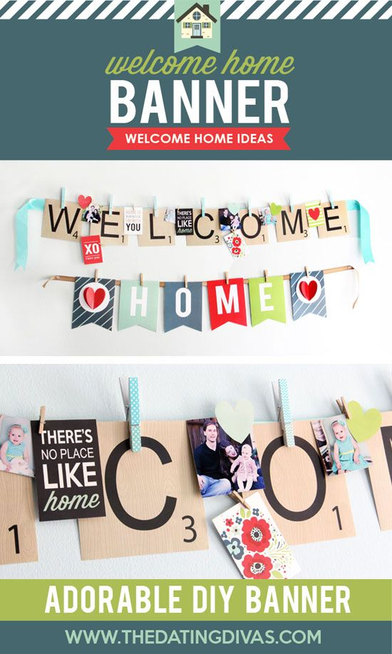 7 best welcome home images on Pinterest | Free printables, Birthdays ...