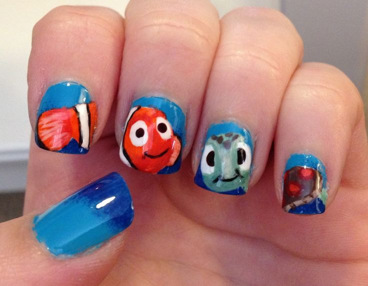 41 best katies nails images on pinterest dish dishes and finding nemo nails prinsesfo Gallery