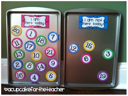 Note attendance easily this year with a magnetic attendance board. I will show you how I made it and give you the free downloads to make it yourself.