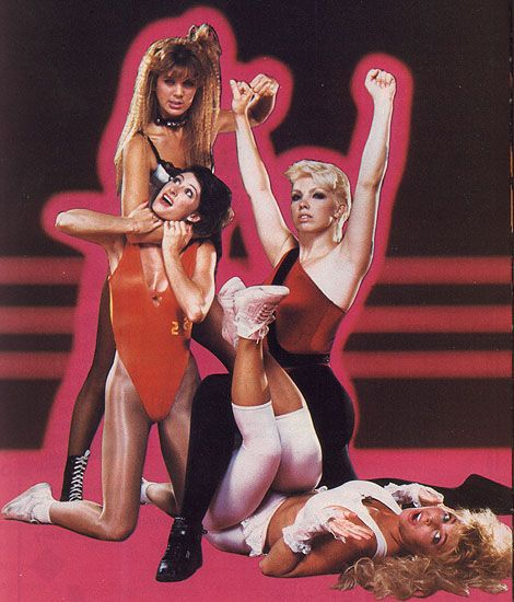 Erotic ladies of wrestling