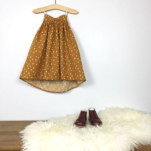 Sand Castle Dress by Two els. #twoels #falldress #holidaydress